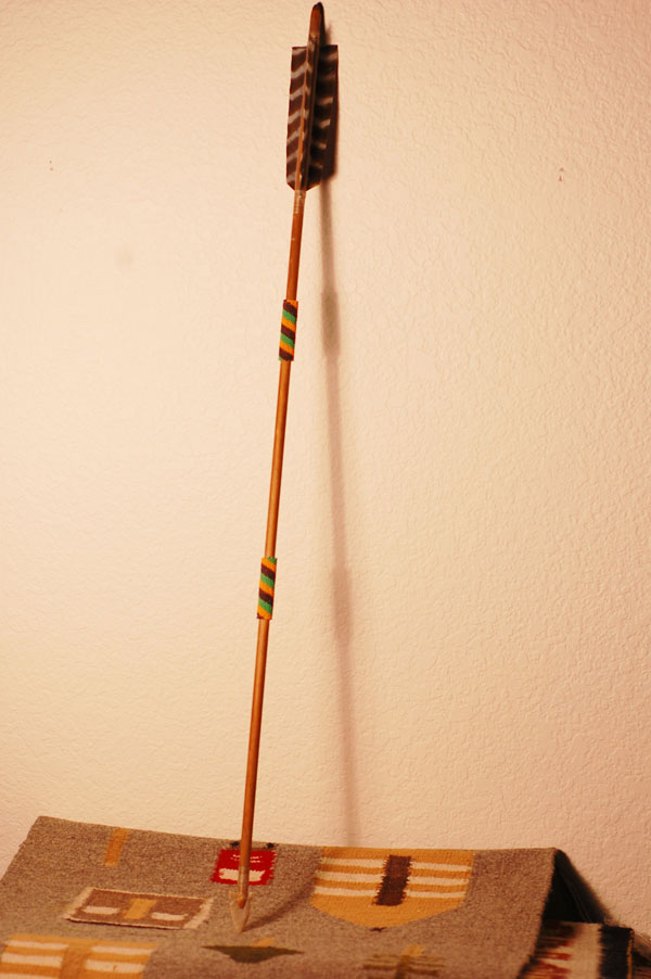 Chippewa Beaded Arrow