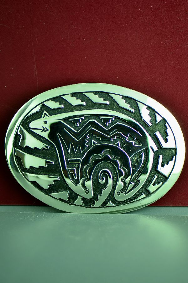 Tommy and Rosita Singer Spirit Line Bear Belt Buckle