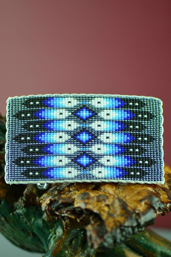 Native American Beaded Buckle