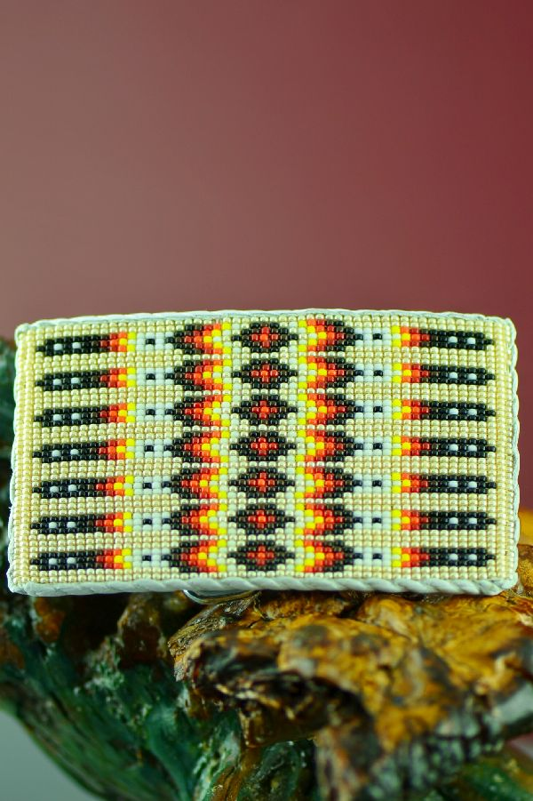 Native American Beaded Buckles