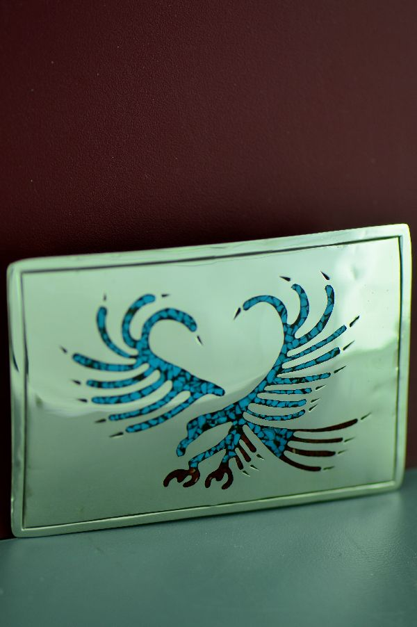 Turquoise Eagle Buckle