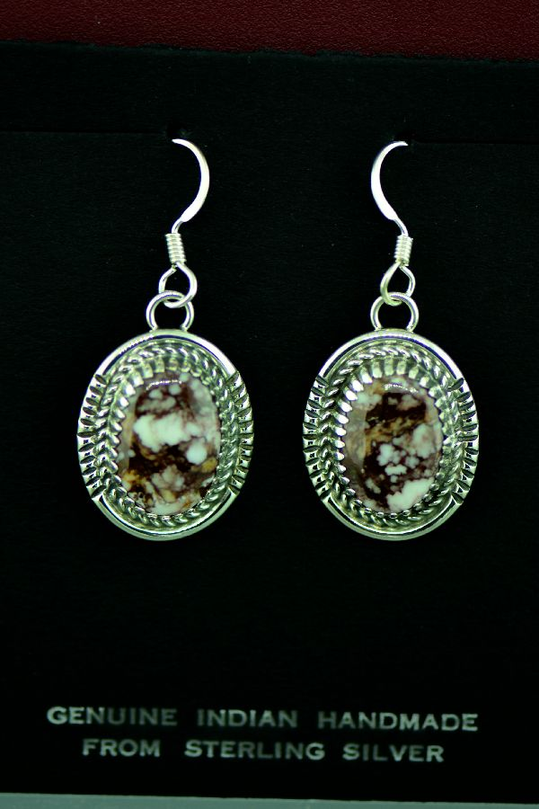 Wild Horse Magnesite Earrings