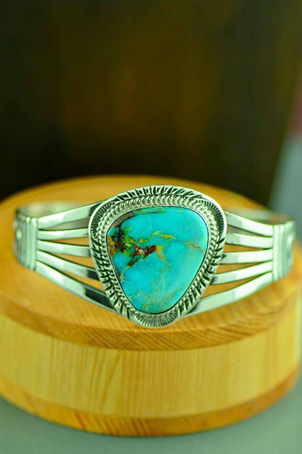 Will Denetdale Royston Turquoise Bracelet
