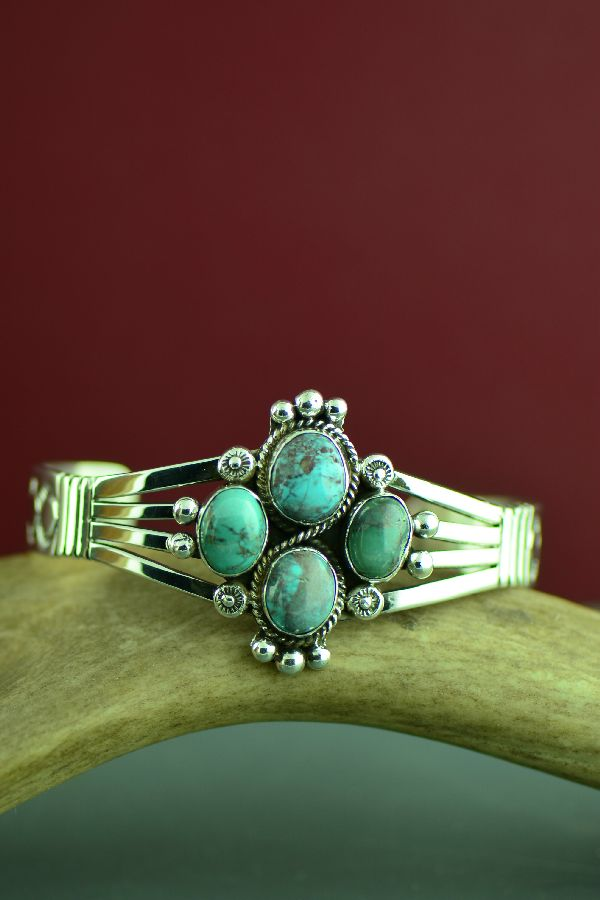 Will Denetdale Kingman Turquoise Ladies Bracelet