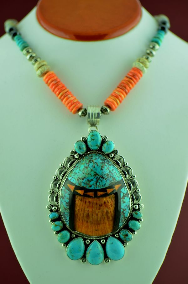 Will Denetdale Kingman Turquoise Necklace