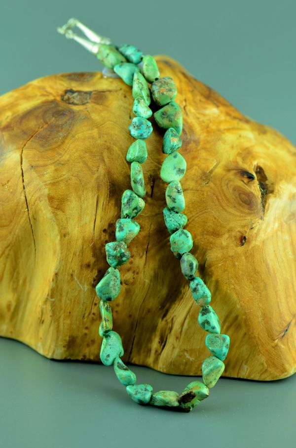 Ajax Turquoise Native American Necklace