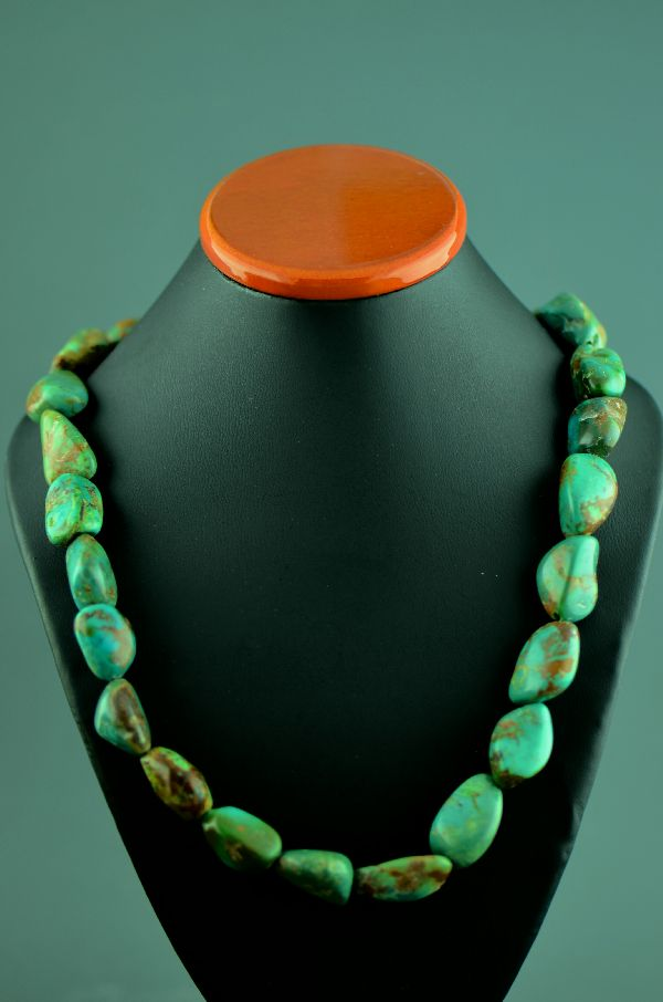 American Indian Royston Turquoise Necklace