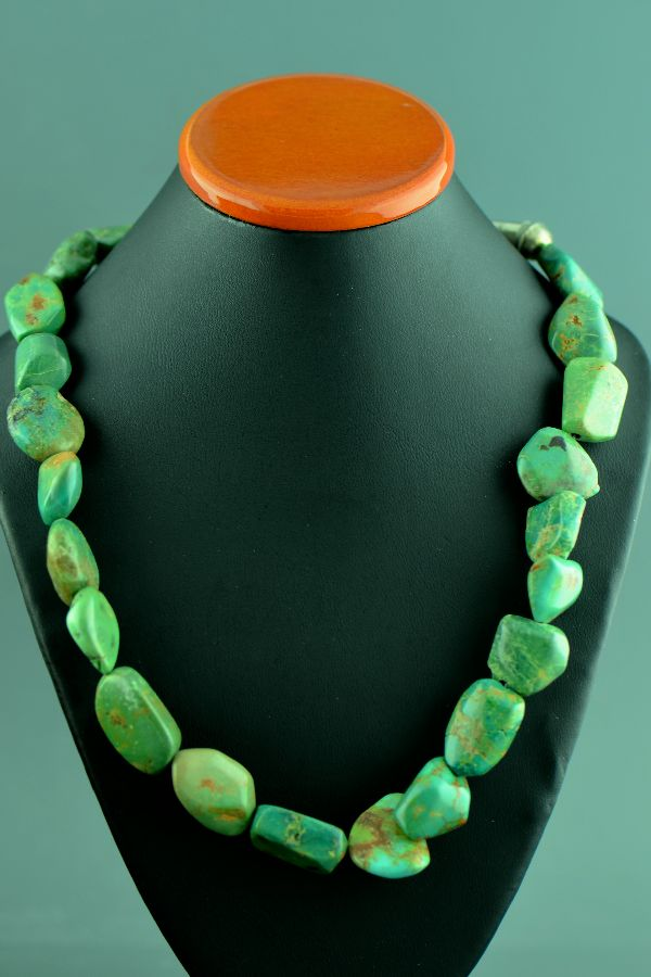 Mary Begay Royston Turquoise Necklace
