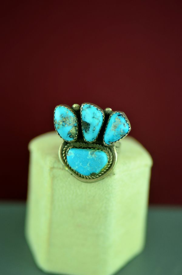 Alex Begay Morenci Turquoise Ring