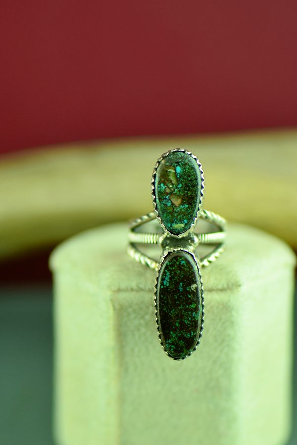 Native American Turquoise Ring Size 4
