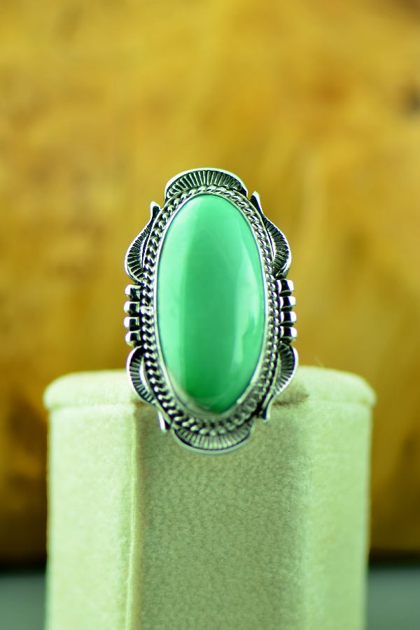 Will Denetdale Fox Turquoise Ladies Ring