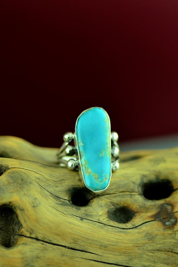 Authentic American Indian Royston Turquoise Ring