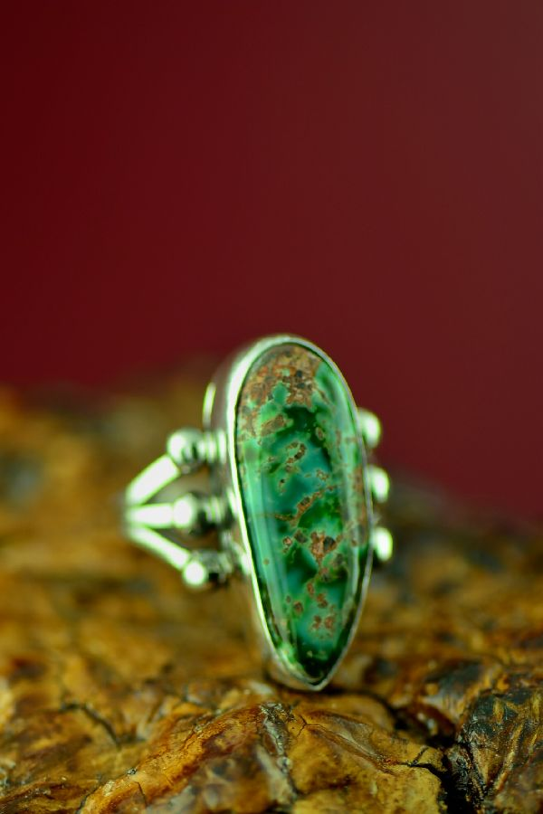 Navajo Royston Turquoise Rings
