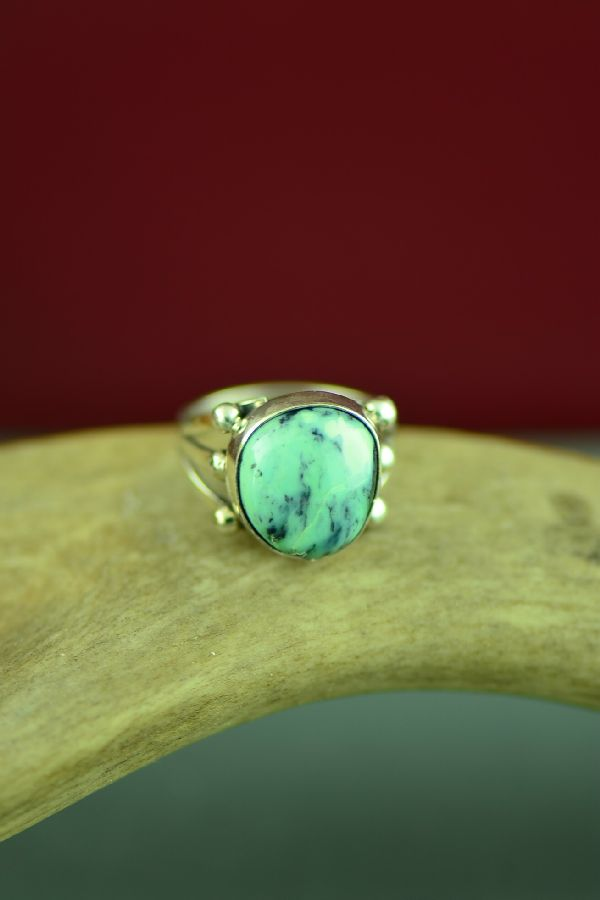 Native American Apache Turquoise Ring