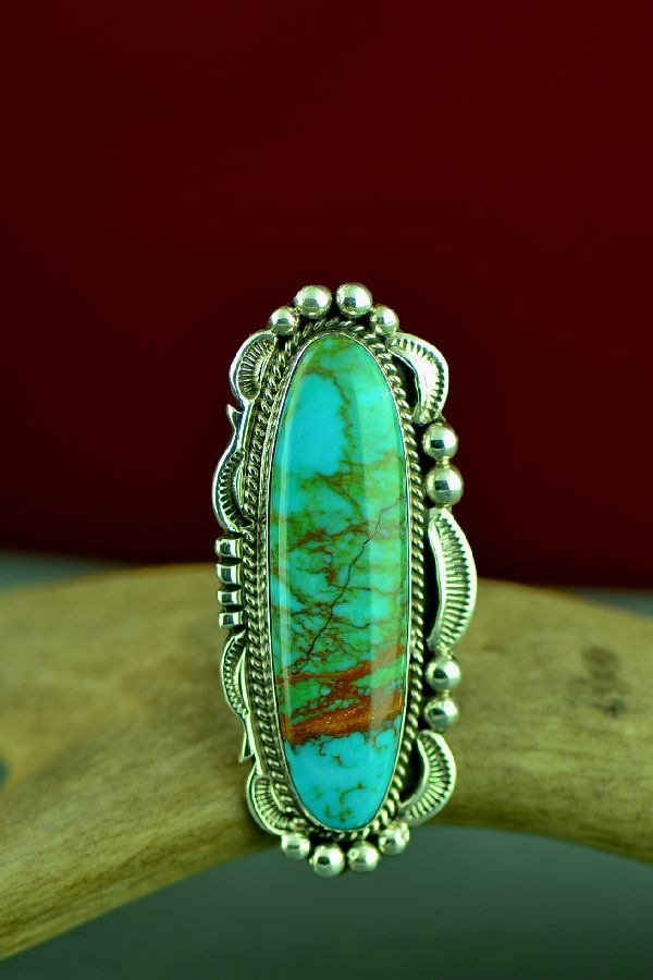 Native American Royston Turquoise Rings