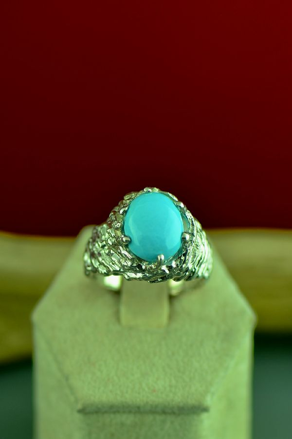 High Grade Sleeping Beauty Turquoise Ring