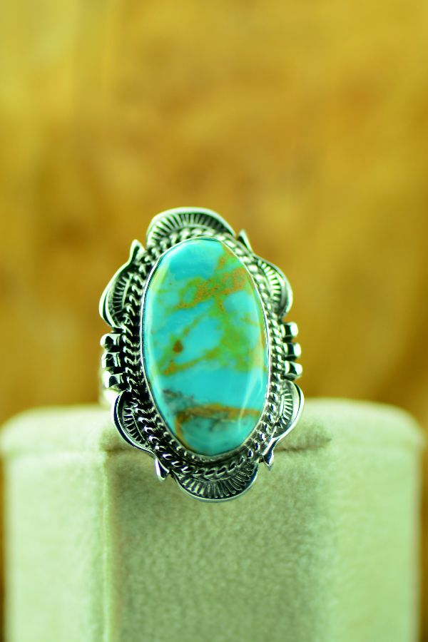 Ladies Will Denetdale Royston Turquoise Ring