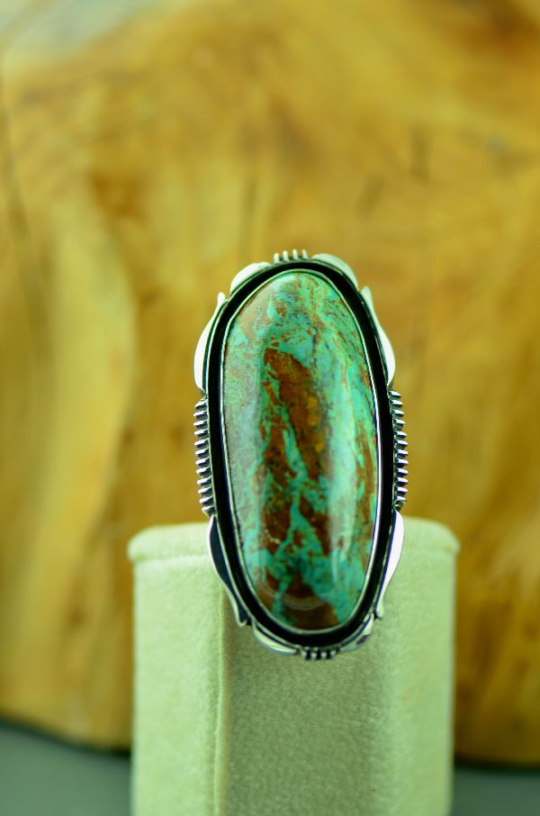 Native American Ajax Turquoise Ring