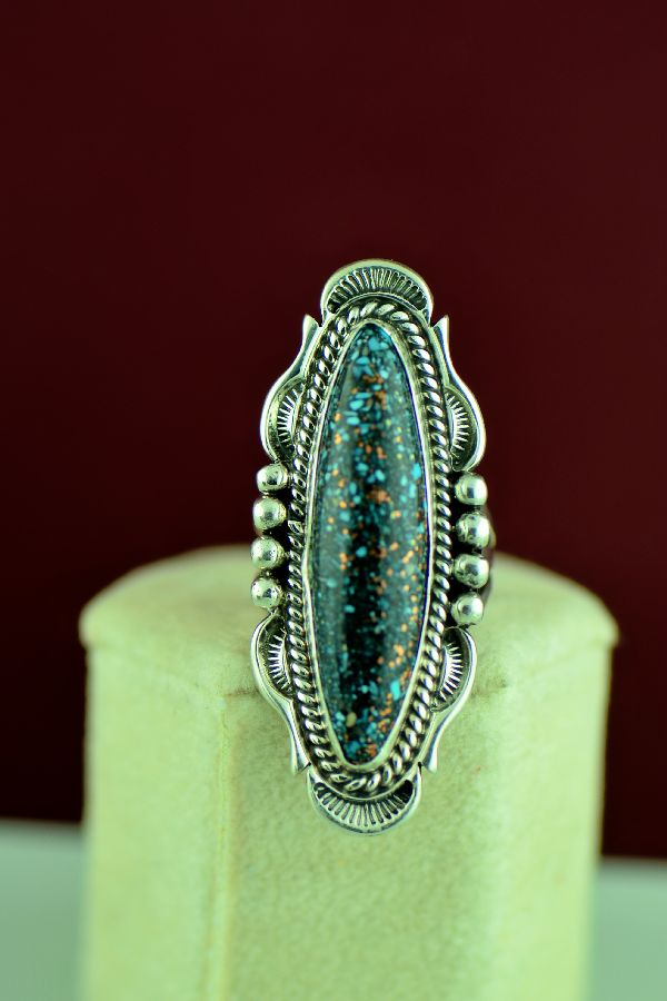 American Indian Kingman Turquoise Ring