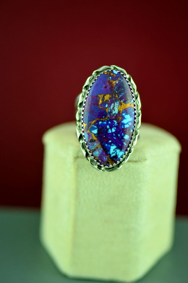 Mohave Purple Turquoise Ring