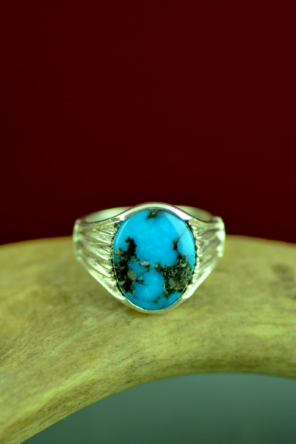 Cherokee Turquoise Ring