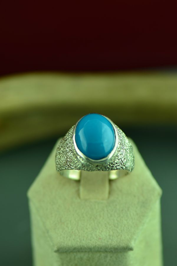 Cherokee Sleeping Beauty Turquoise Ring