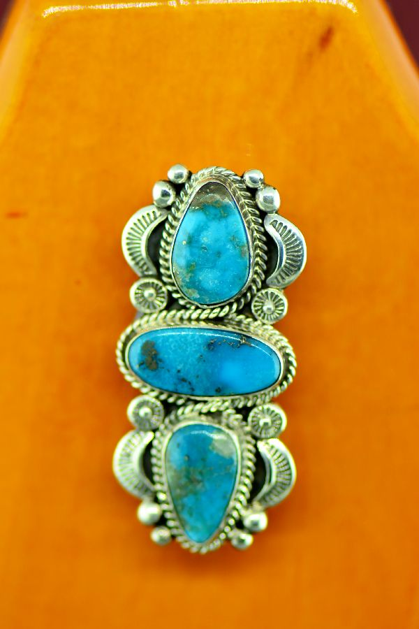 Bisbee Turquoise Pin