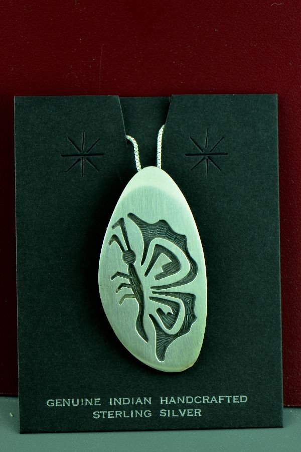 Hopi Bufferfly Pendant