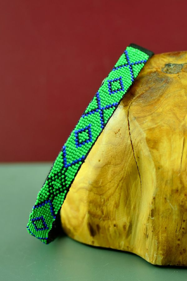 16 Inch Native American Dog Collar