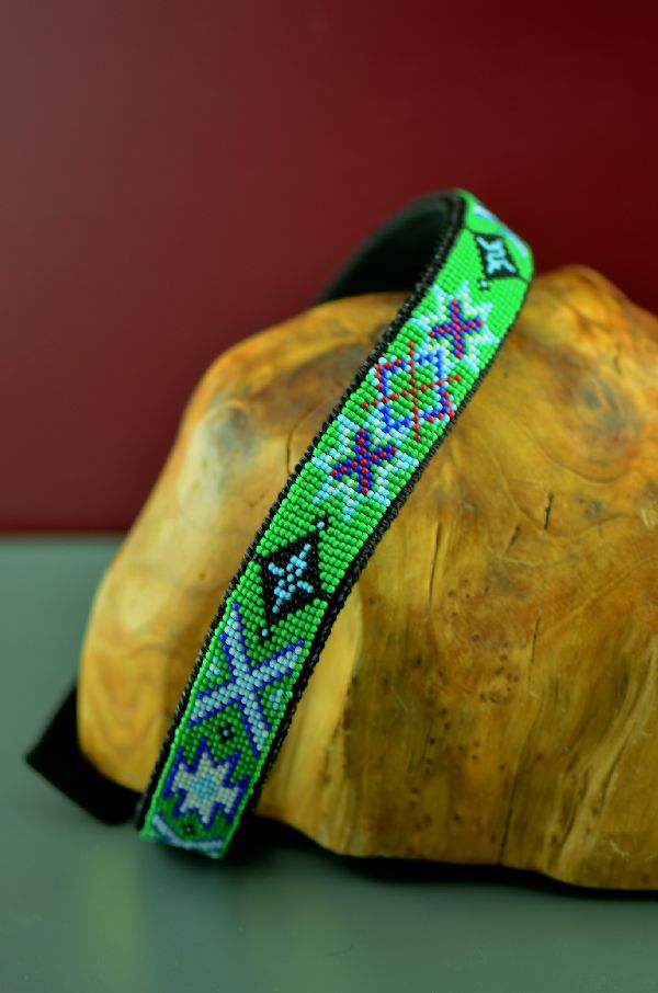 24 Inch Native American Dog Collar