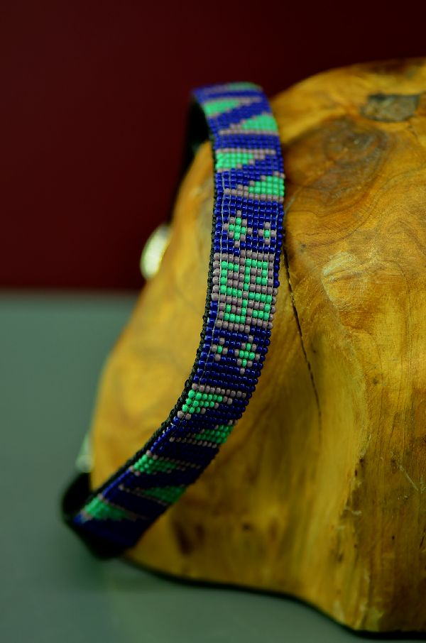 Beaded Native American Dog Collars Navajo