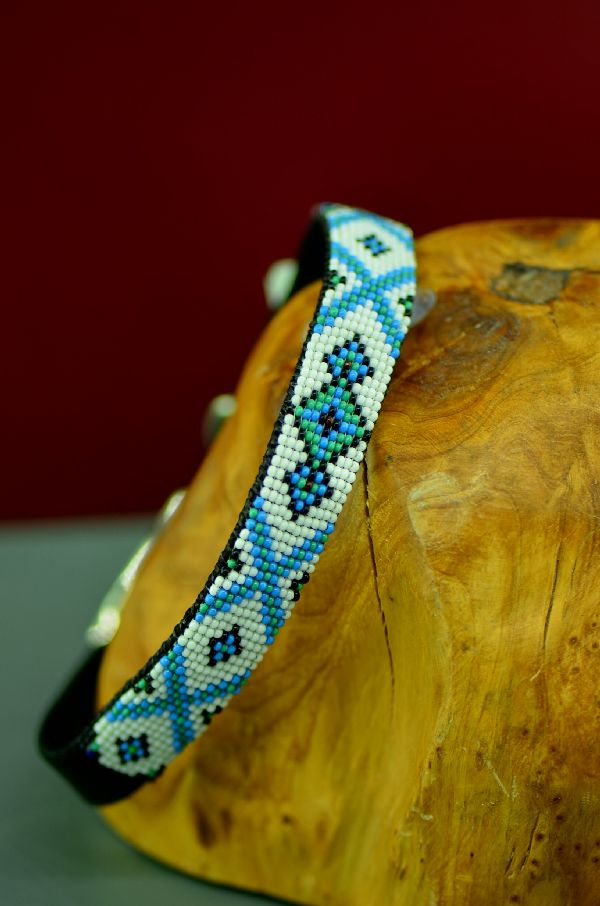 Caroline Joe Beaded Dog Collars Navajo
