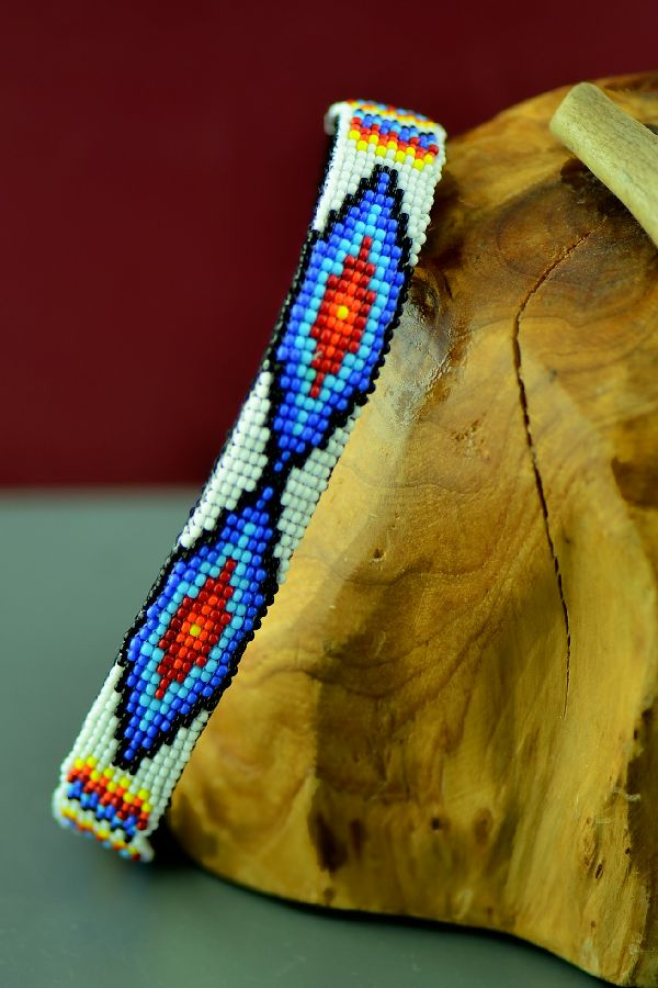Native American Beaded Dogs Collars