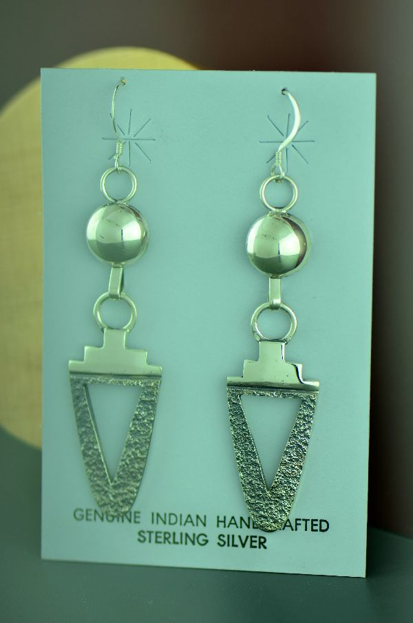 Jack Tom Silver Earrings
