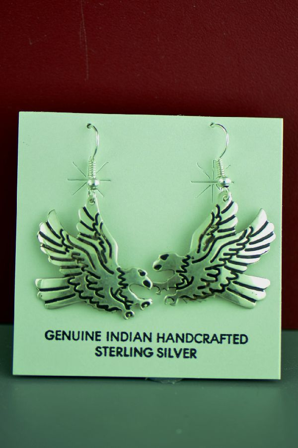 Authentic Tommy Singer Eagle Earrings