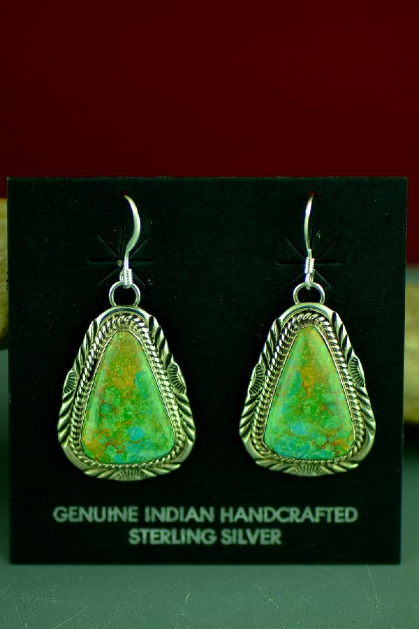 Manassa Turquoise Earrings