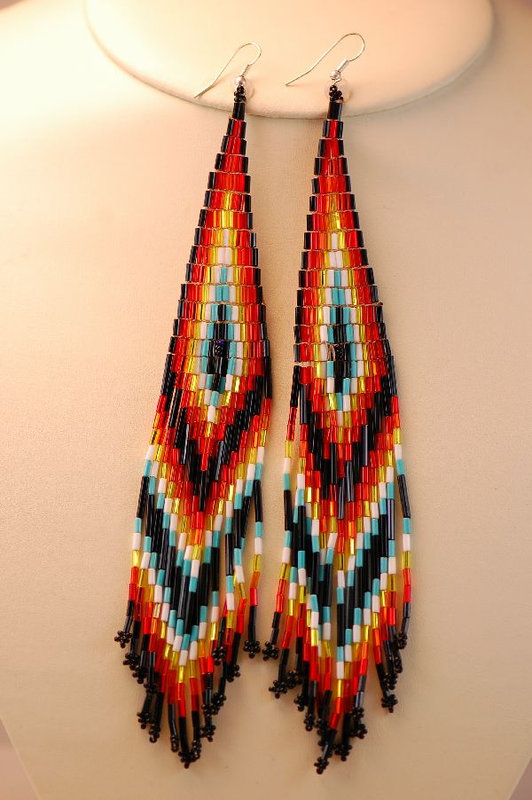 Therio Harvey Pow Wow Earrings
