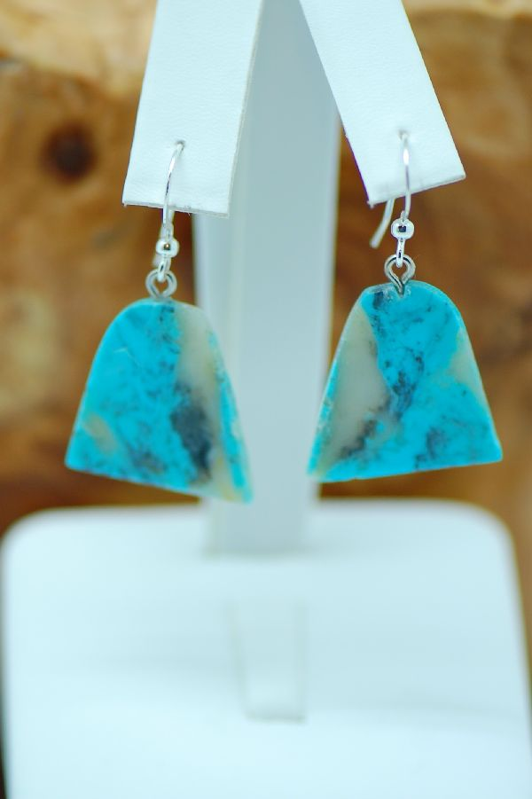 DuWayne Turpen Turquoise Earrings