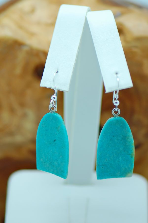 Earrings Kingman Turquoise