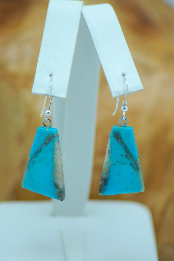 Earrings Turquoise Navajo Authentic