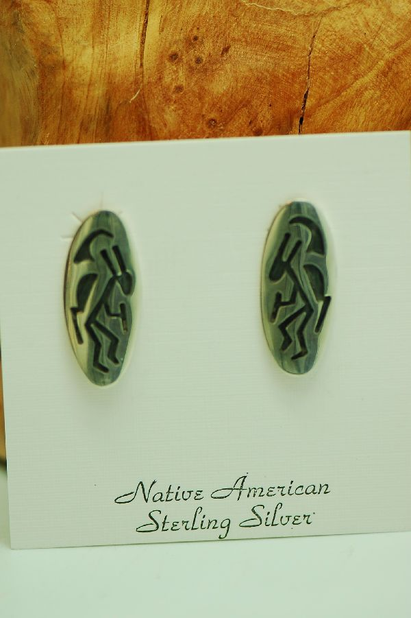 Hopi Kokopelli Earrings