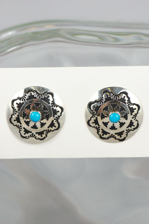 Turquoise Clip On Earrings