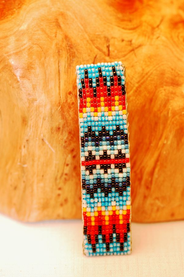 Quality Beaded Navajo Barrette