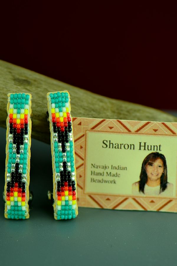 American Indian Sharon Hunt Barrettes