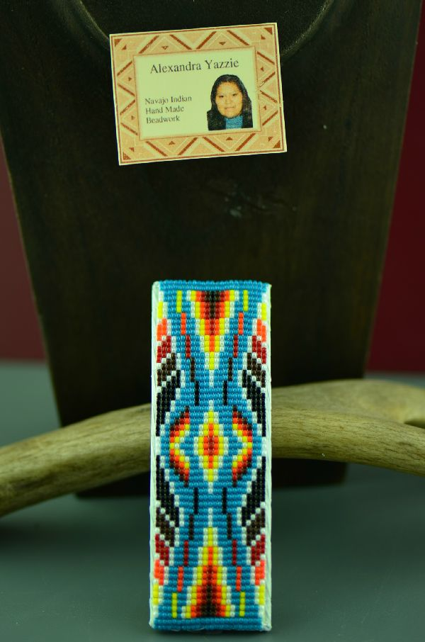 Alexandria Yazzie Beaded Barrette