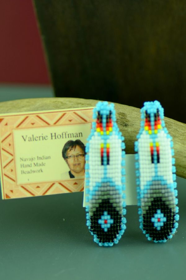Unique Beaded Navajo Barrettes