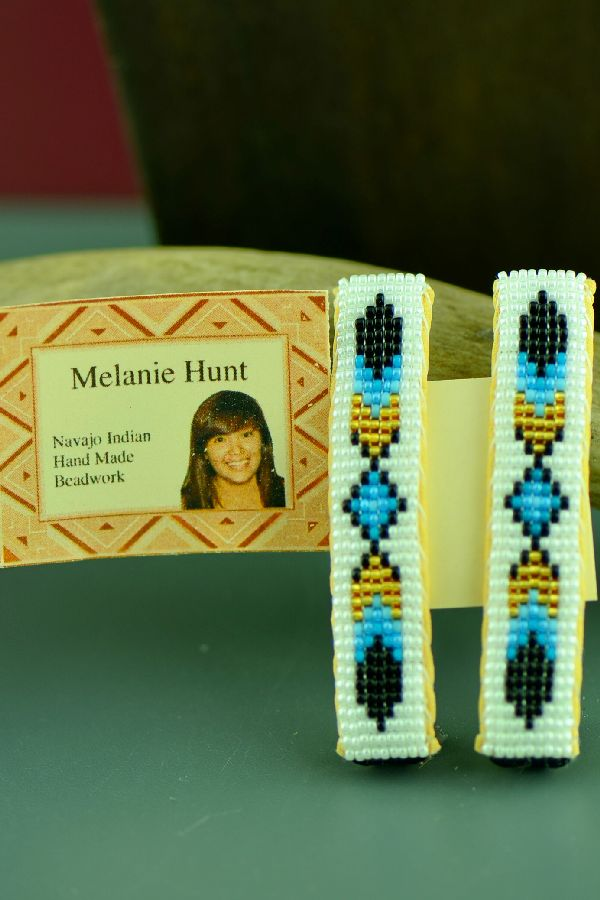 American Indian Prayer Feather Barrettes