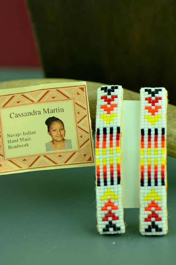Cassandra Martin Beaded Barrettes