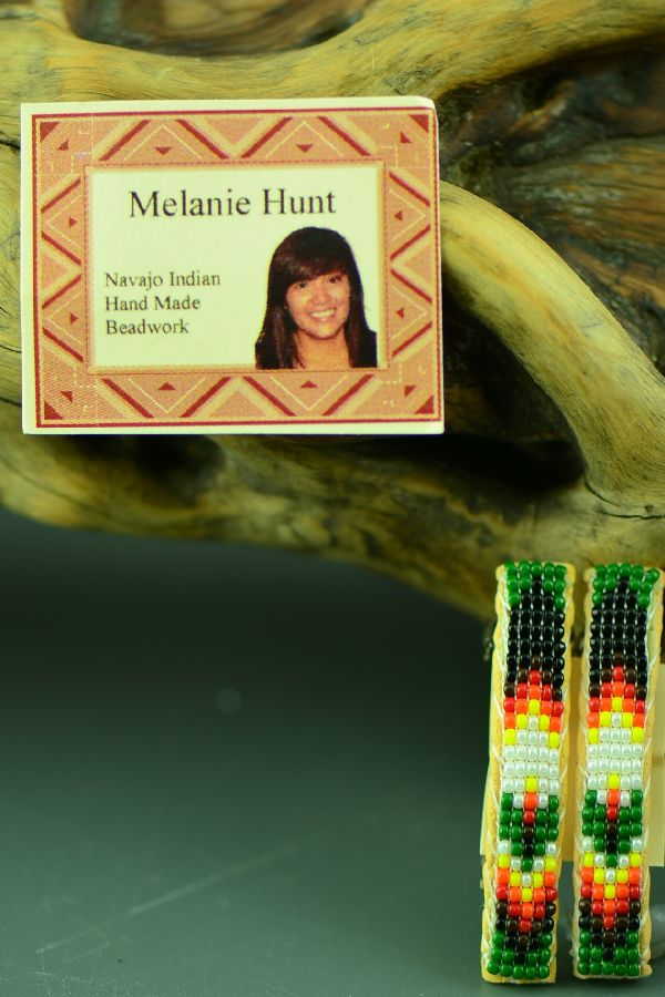 Melanie Hunt Barrettes Beaded