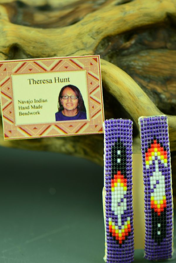 American Indian Beaded Barrette